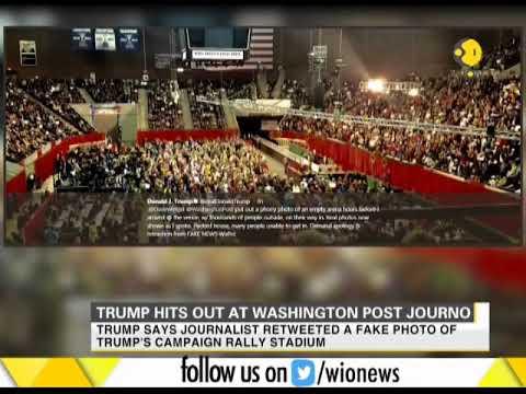 Donald Trump hits out at Washington Post journalist