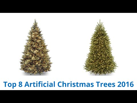 8 Best Artificial Christmas Trees 2016