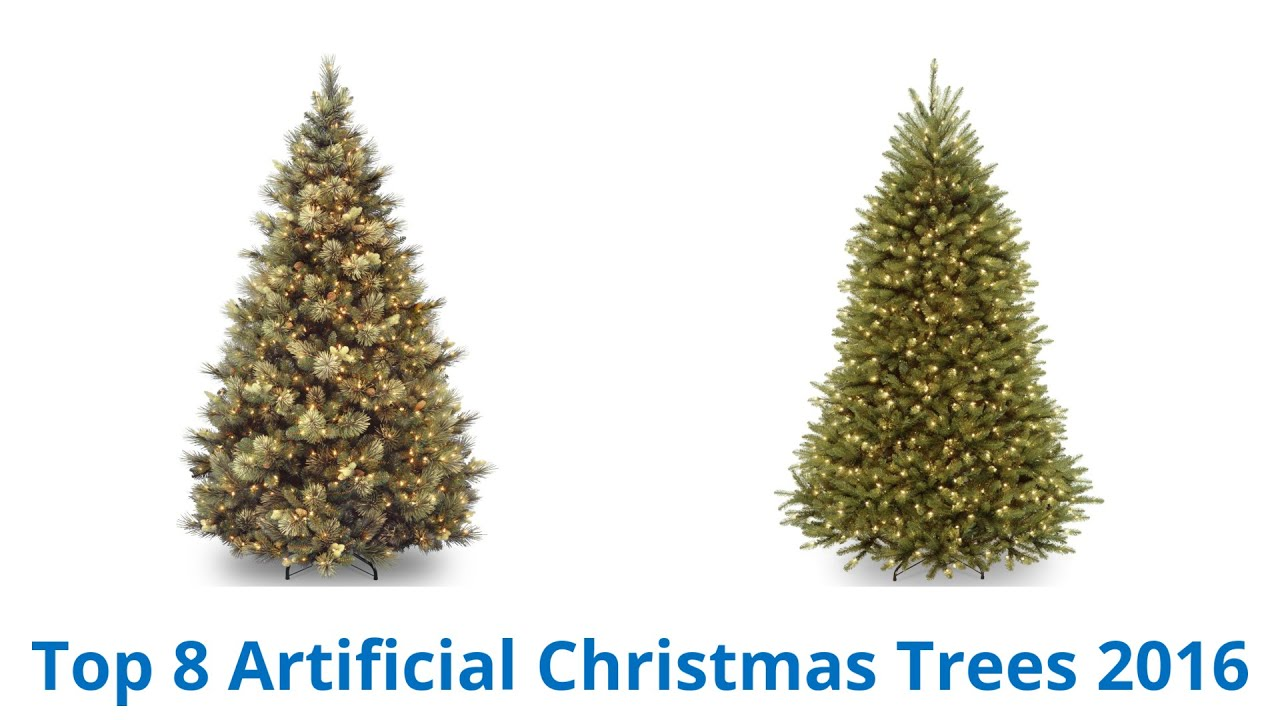 8 Best Artificial Christmas Trees 2016 - YouTube