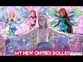 OPENING THE BRAND NEW ONYRIX DOLLS (Winx club doll opening)