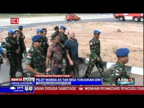 TNI AU Hentikan Pesawat Asing di Kalimantan