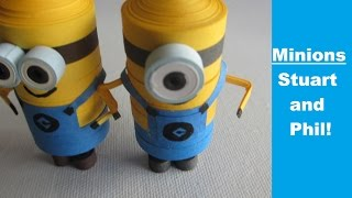 How to make your own minions in 4 minutes - Quilling