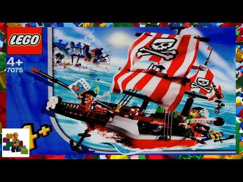 Lego Instructions 4juniors 7075 Captain Redbeards Pirate Ship