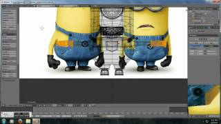 Repeat youtube video Blender Minion Time lapse