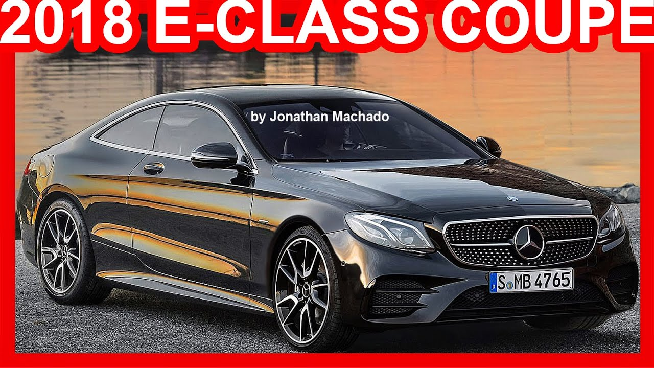 PHOTOSHOP Mercedes-Benz Classe E Coupé 2018 #Mercedes - YouTube