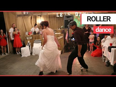 Sarge - Wedding Dance Happens on Roller Skates