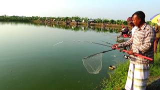 Cool Fish Catching Videos On Village Fishing Competition