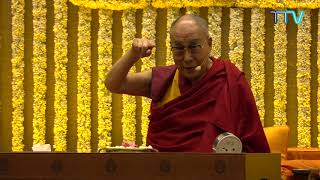 His Holiness talk on Courage & Compassion in the 21st Century