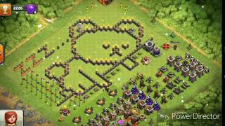 Top funny troll bases of clash of clans / everything pro