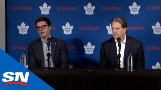 Kyle Dubas, Brendan Shanahan Address Firing Of Mike Babcock   FULL Press Conference