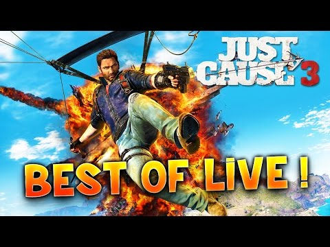 Nawak Lennon Show : Just Cause 3 - BEST OF DES LIVES -