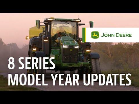 Gain Ground with 8 Series Tractors   John Deere