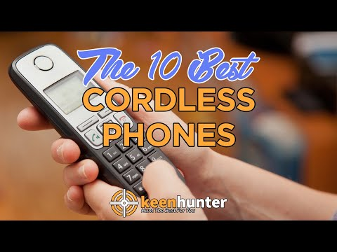 Cordless Phone: Top 10 Best Cordless Phones Video Reviews (2020 NEWEST)