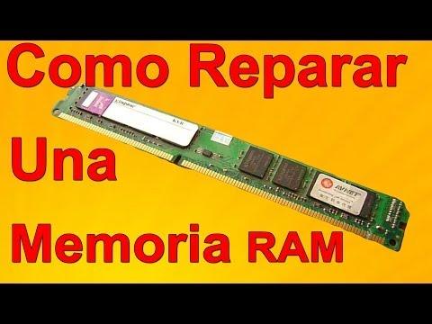 Cómo reparar una memoria RAM (Fácil de hacer)