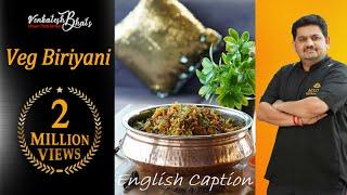 venkatesh bhat makes veg biriyani  veg biriyani recipe in tamil   vegetable biryani  veg biriani