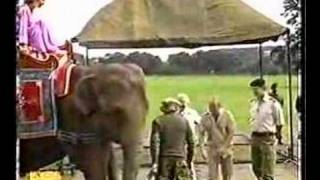 Paul Daniels-vanishing Elephant illusion.