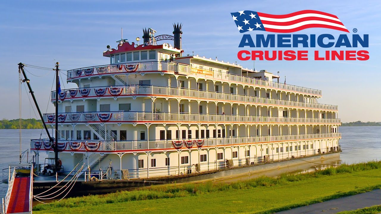 american cruise lines mississippi river paddlewheelers youtube
