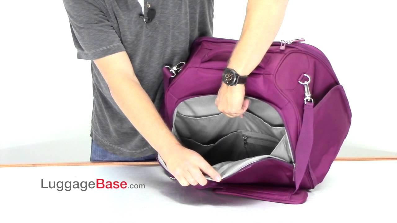 411ae8c6e9 Samsonite Mightlight Boarding Bag - YouTube