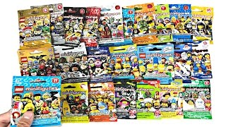 LEGO Minifigures Opening - ALL 24 LEGO Minifigures Series!