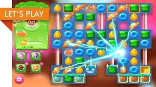 Let's Play - Candy Crush Jelly Saga (Level 4601 - 4610) screenshot 2