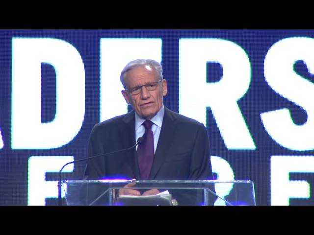Legendary Journalist BOB WOODWARD – Getting to the Truth About Watergate