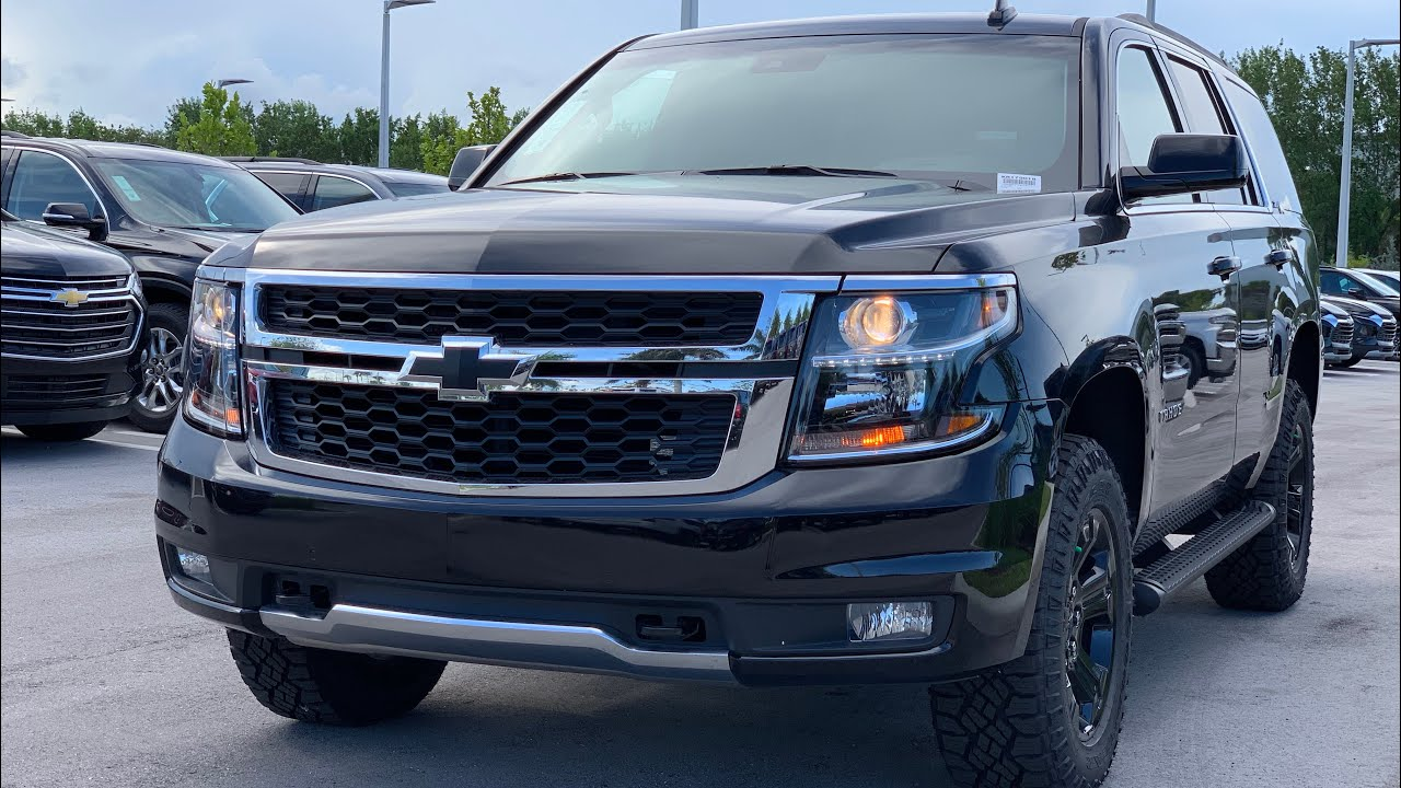 2019 Chevy Tahoe Z71 Review - The Off-Road Family SUV ...