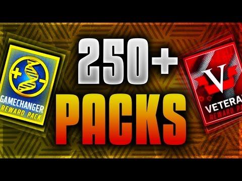 250+ GAMECHANGER AND VETERAN PACKS! BIGGEST PACK OPENING EVER! PLUS 6 ELITE UPGRADE PACKS!
