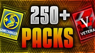 250+ GAMECHANGER AND VETERAN PACKS! BIGGEST PACK OPENING EVER! PLUS 6 ELITE UPGRADE PACKS!