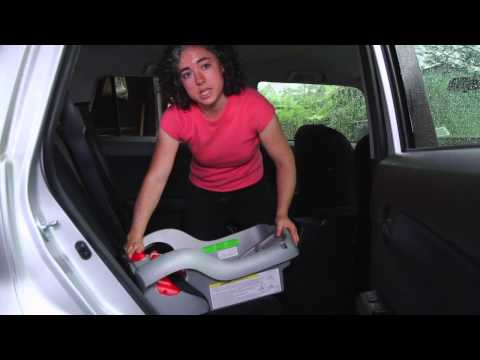 How to Install a Car Seat Using LATCH (Graco SnugRide 35 Base)