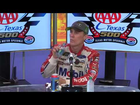 Texas Motor Speedway Post-Race Win Press Conference