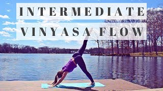 Vinyasa Yoga: Power Intermediate Flow