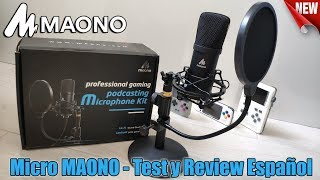 Microfono MAONO AU-A04T - Test y Review