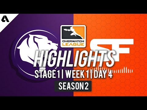 SF Shock vs LA Gladiators | Overwatch League S2 Highlights - Stage 1 Week 1 Day 4 thumbnail