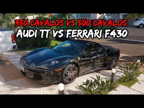 AUDI TT VS FERRARI F430 (TOMEI PAU?)