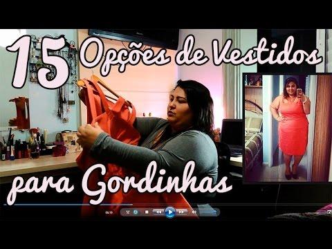 c5be52735 Moda Plus Size Brasil - 15 Modelos de Vestido para Gordinhas - YouTube