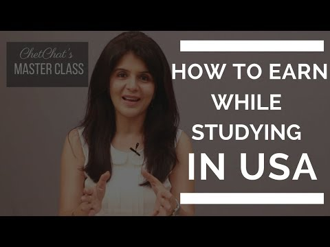 How To Make/Earn Money As A Student While Studying in USA | How to Make Money in College | ChetChat