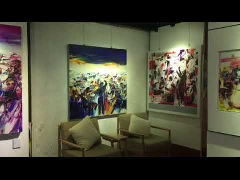 """Lim Ah Cheng  """" EnCore """"  a solo art exhibition  PINKGUY master gallery  11 - 31 March 2018 By Appo"""