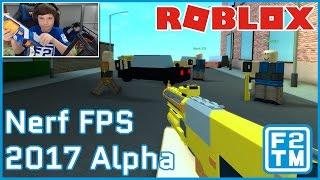 Nerf Gun Battles on a Whole New Level in Roblox Nerf FPS 2017