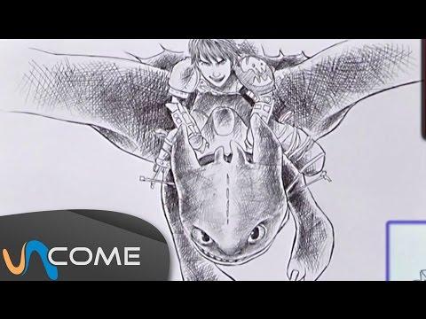 Come disegnare Sdentato di Dragon trainer 2