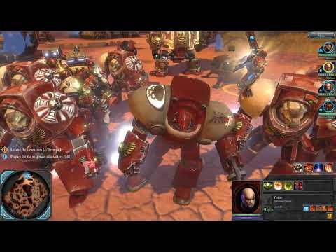 Warhammer 40000  Dawn of War II Wrath Mod Defence Mission |