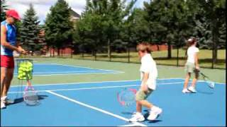 Tennis drills for kids - TennisDennis.ca