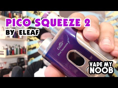 Pico Squeeze 2 with Coral 2 by Eleaf ~ vapemynoob [ Greek Reviews ]