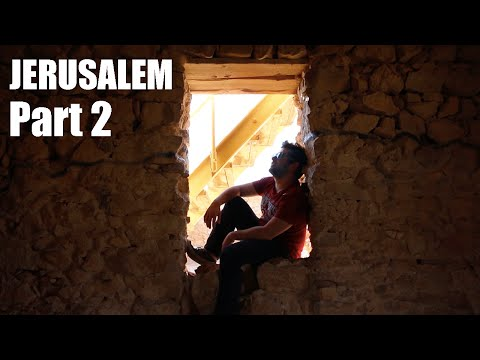 WALKING THE OLD CITY AT NIGHT - Jerusalem - PART 2