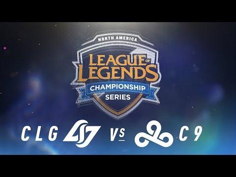 CLG vs. C9 - Week 1 Day 1   NA LCS Spring Split   Counter Logic Gaming vs. Cloud9 (2018)
