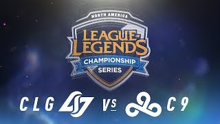 Video CLG vs. C9 - Week 1 Day 1 | NA LCS Spring Split | Counter Logic Gaming vs. Cloud9 (2018) download MP3, 3GP, MP4, WEBM, AVI, FLV Agustus 2018