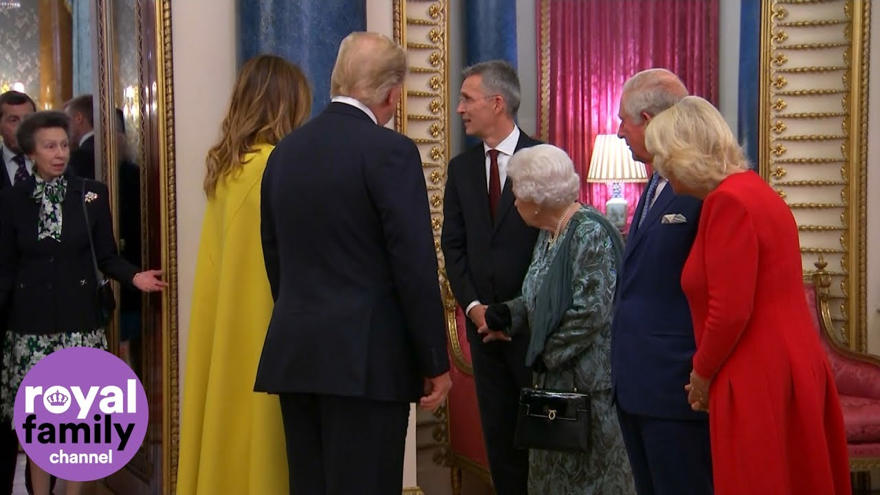 Did the queen 'scold' Princess Anne for not greeting Trump? Many ...