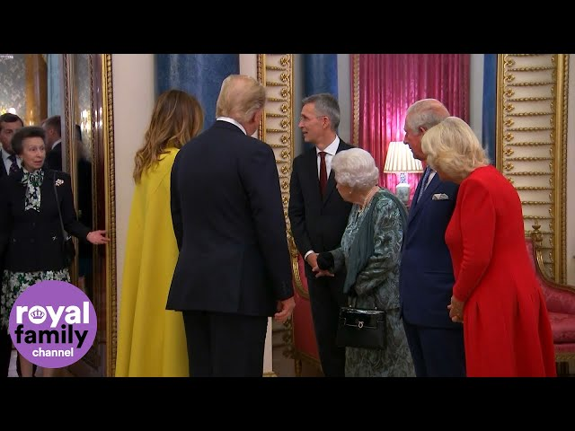 The Queen Beckons Reluctant Princess Anne to Greet Donald Trump!