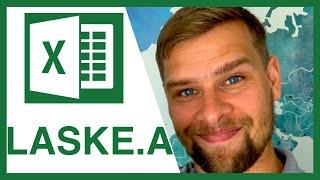 LASKE.A ja LASKE.JOS -funktioiden käyttö | Microsoft Excel peruskurssi