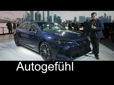 All new Toyota Avalon 2019 REVIEW NAIAS 2018 Autogefhl