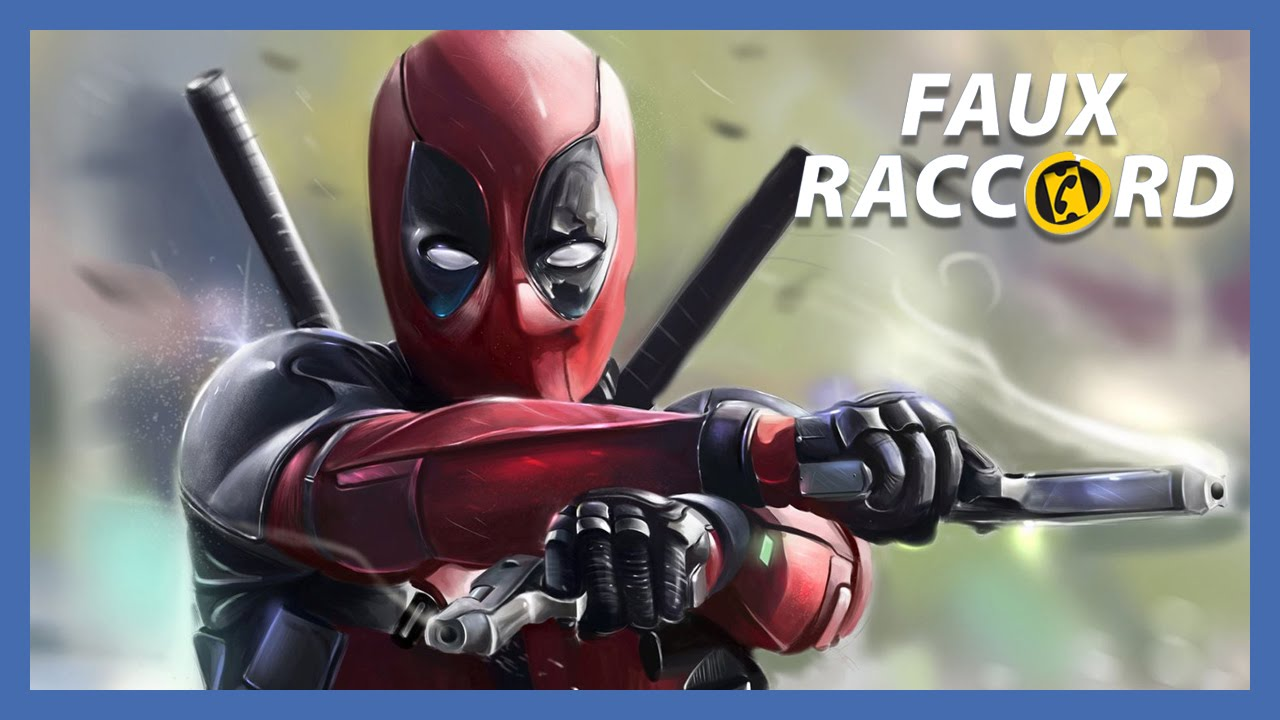 faux raccord les gaffes de deadpool allocin youtube. Black Bedroom Furniture Sets. Home Design Ideas